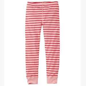 Hanna Andersson Pink Stripe pajama bottoms